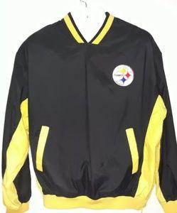 Mens Pittsburgh  steeler pullover jacket